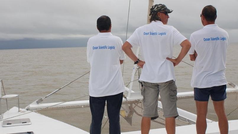 Depart Expedition Ocean Scientific Logistic