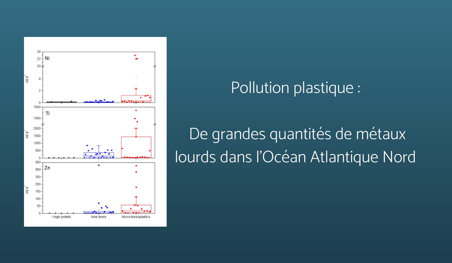 Pollution Plastique : Grandes Quantités De Métaux Lourds Dans L'océan